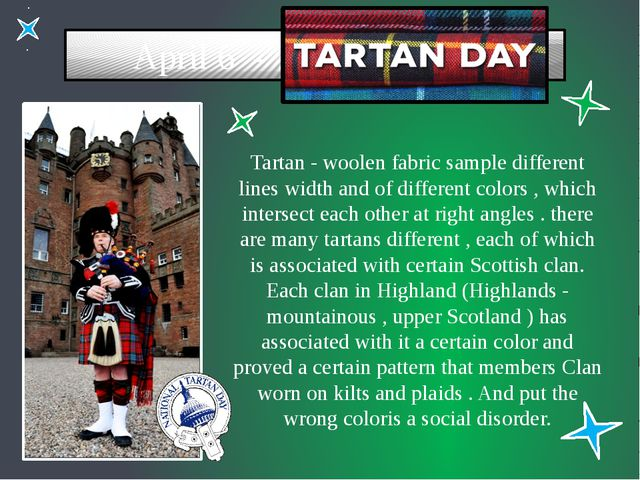 April 6 - Tartan - woolen fabric sample different lines width and of differe...