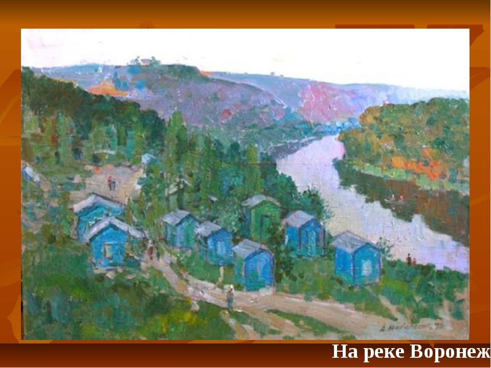 На реке Воронеж