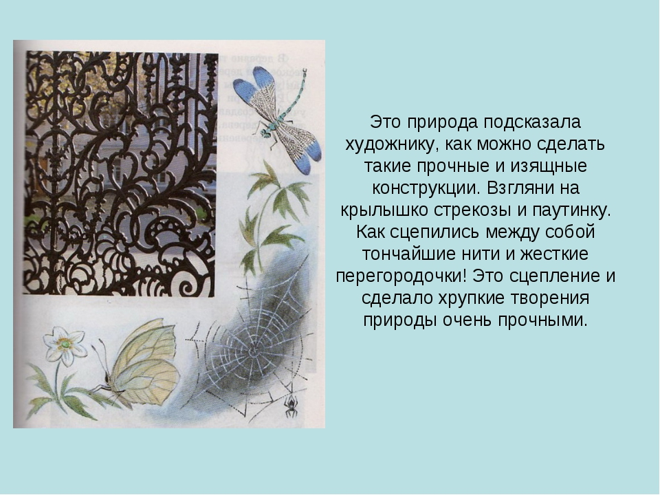 Это природа подсказала художнику, как можно сделать такие прочные и изящные к...