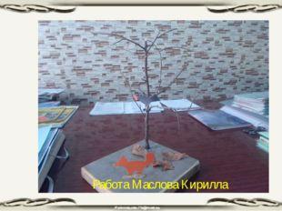 Работа Маслова Кирилла
