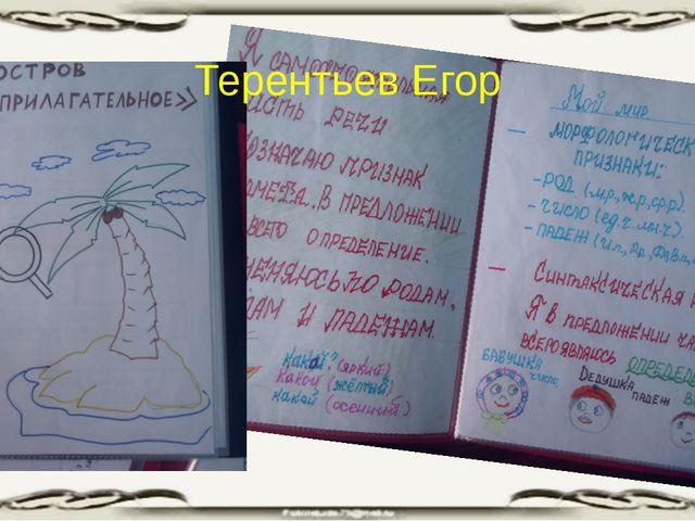 Терентьев Егор