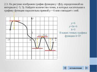 4.2. На рисунке изображен график функции у=f(x),определенной на интервале (−