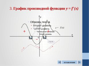 Оглавление 1. График функции у=f(x) 2. Нахождение по графику функции у=f(x):