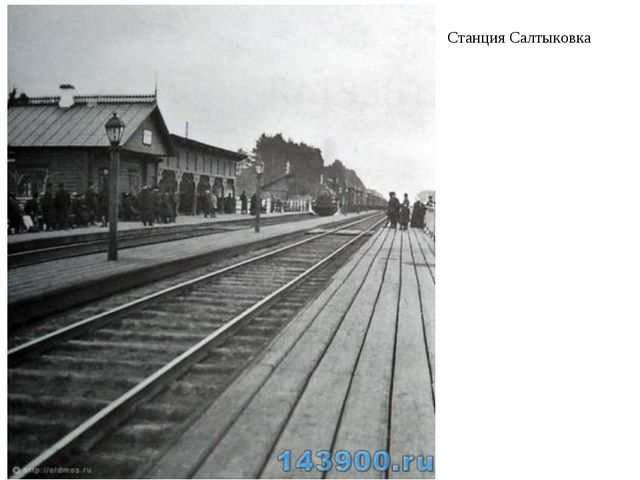 Станция Салтыковка