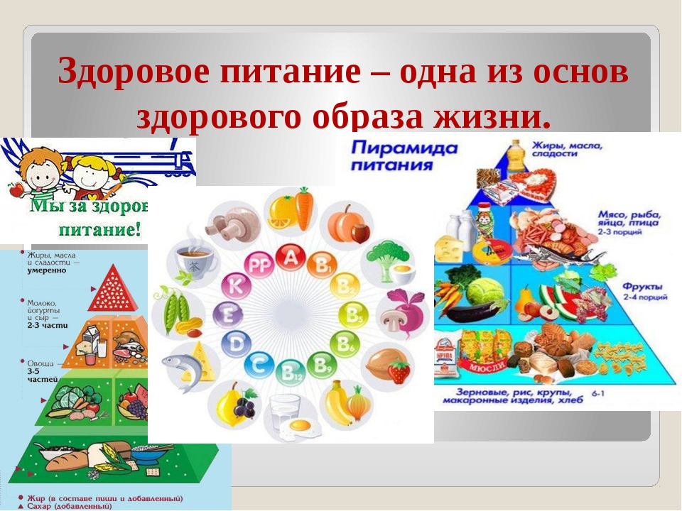 Здоровое питание – одна из основ здорового образа жизни.