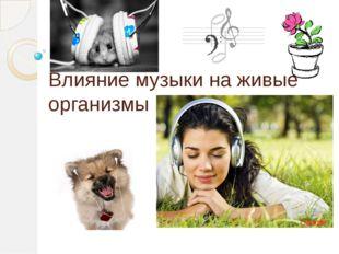 Влияние музыки на живые организмы