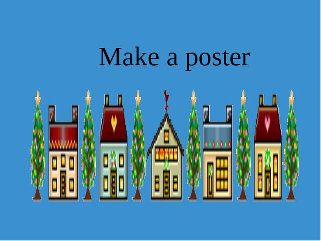 Make a poster