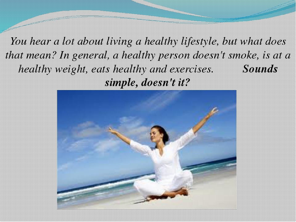 Benefits Of Living A Healthy Lifestyle Essay