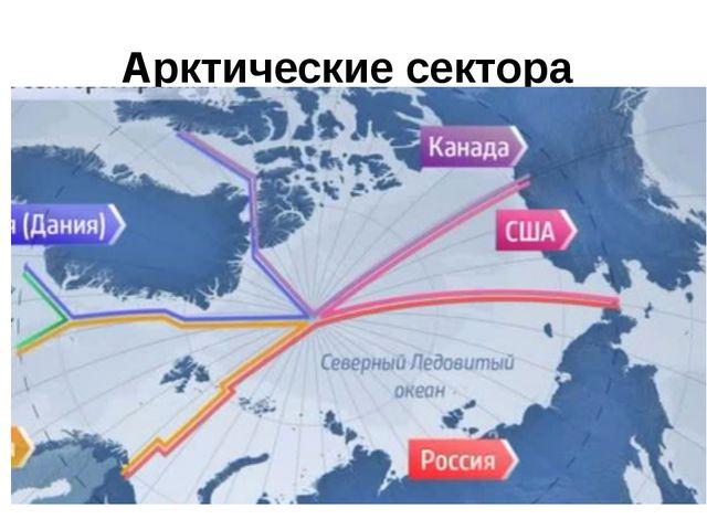 Арктические сектора
