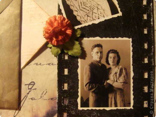 Скрапбукинг День Победы Аппликация Нашим бабушкам и дедушкам посвящается Бумага фото 8