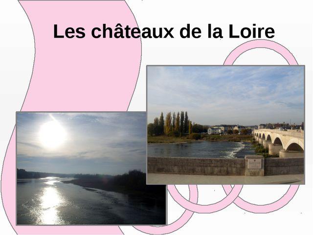 Les châteaux de la Loirе
