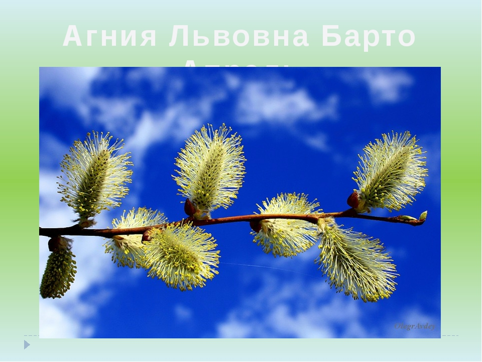 Агния Львовна Барто «Апрель»
