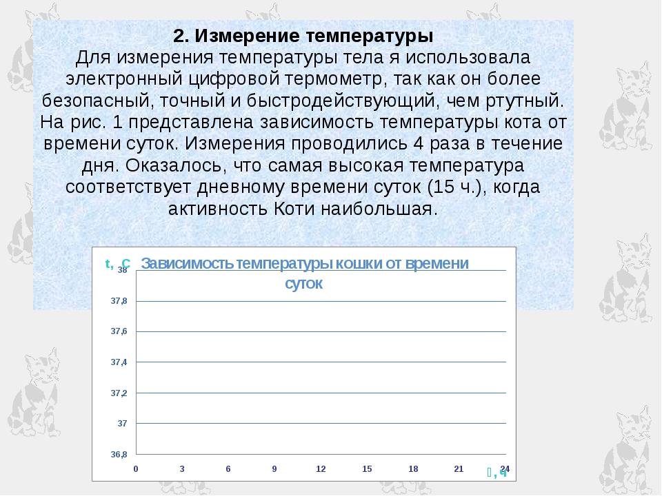 2. Измерение температуры Для измерения температуры тела я использовала электр...