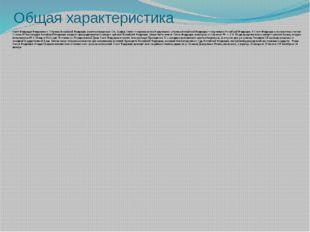 Общая характеристика Совет Федерации Федерального Собрания Российской Федерац