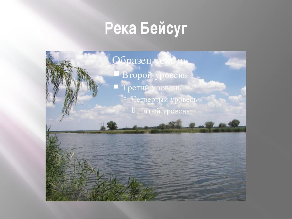 Река Бейсуг