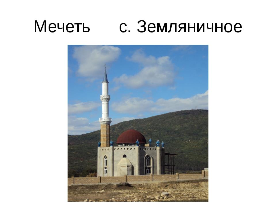 Мечеть с. Земляничное