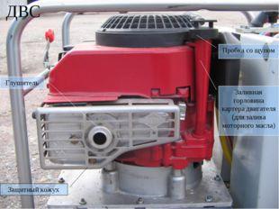 ДВС Глушитель Защитный кожух Пробка со щупом Заливная горловина картера двига