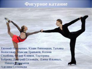 Евгений Плющенко,Юлия Липницкая,Татьяна Волосожар,Максим Траньков,Ксения