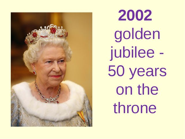 2002 golden jubilee - 50 years on the throne