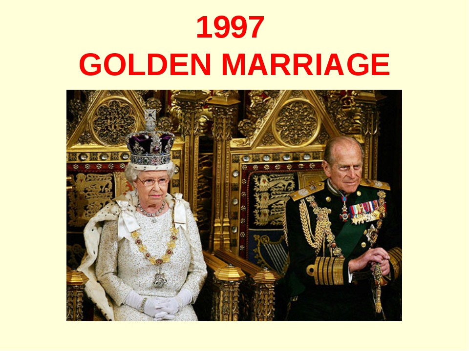 1997 GOLDEN MARRIAGE
