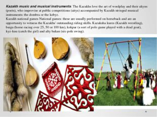 Nauryz (Islamic New Year) is one of the biggest holidays in Central Asia. In