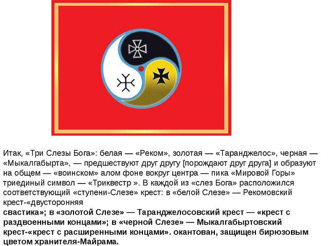 Итак, «Три Слезы Бога»: белая — «Реком», золотая — «Таранджелос», черная — «М...