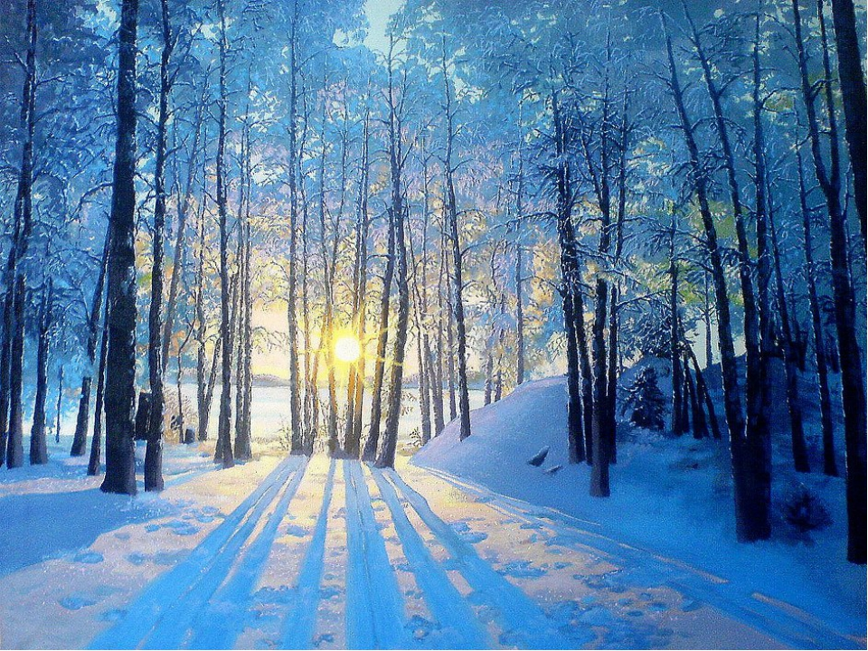 Картинка зима чайковского