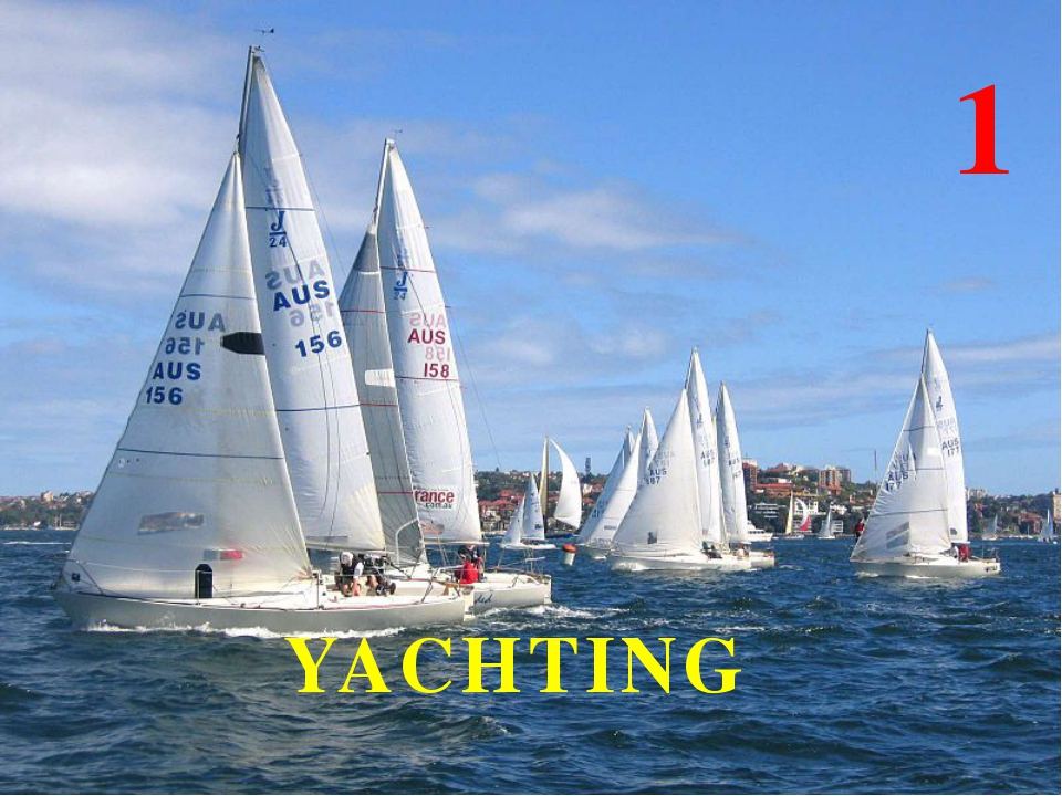 YACHTING 1