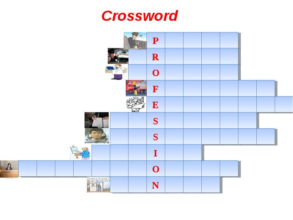 P R O F E S S I O N Crossword