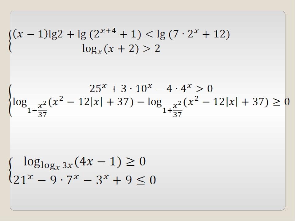 Спасибо за внимание Работу выполнила Зарьянцева В.П. –учитель математики высш...