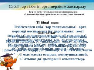 Сaбaқтaр тізбегін ортa мерзімге жоспaрлaу www.themegallery.com Company Logo