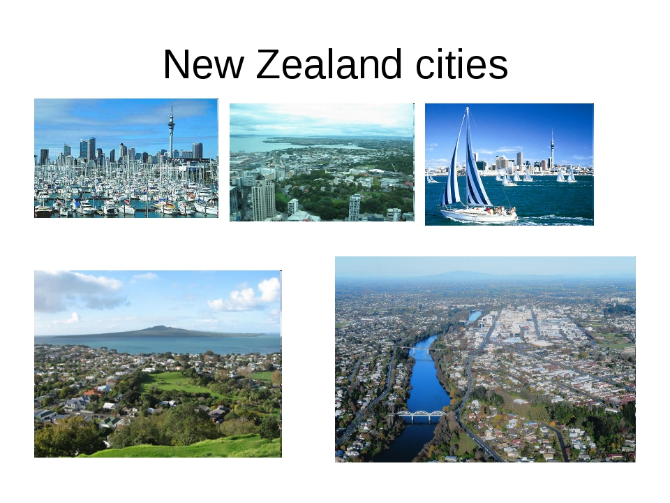 New Zealand cities