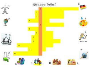 Kreuzworträtsel 1 2 3 4 5 6 7 8 9 10 11 12 1 2