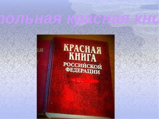 малая настольная красная книга россии