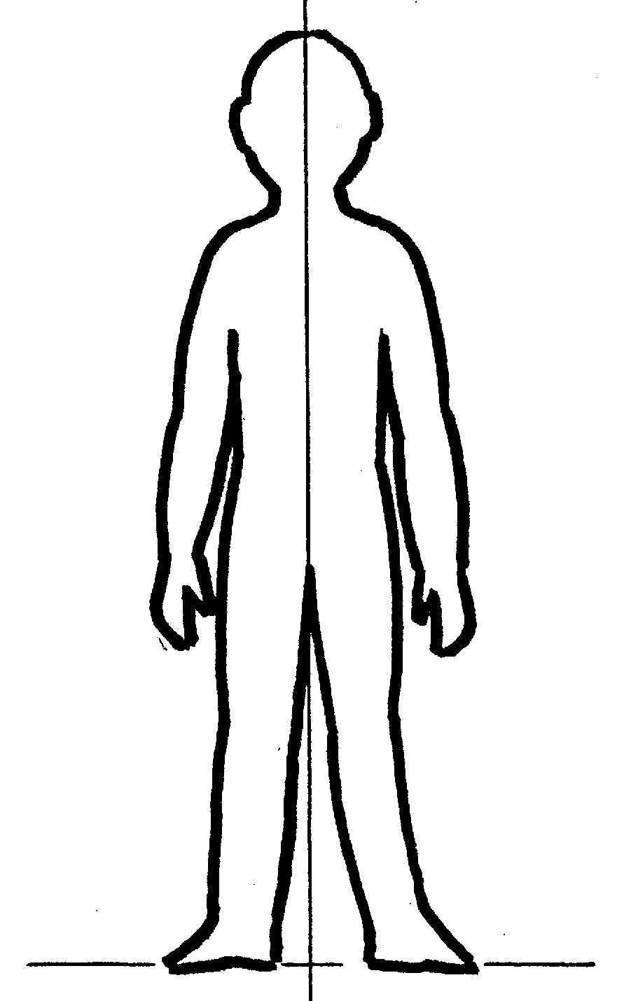 Трафарет человека картинка