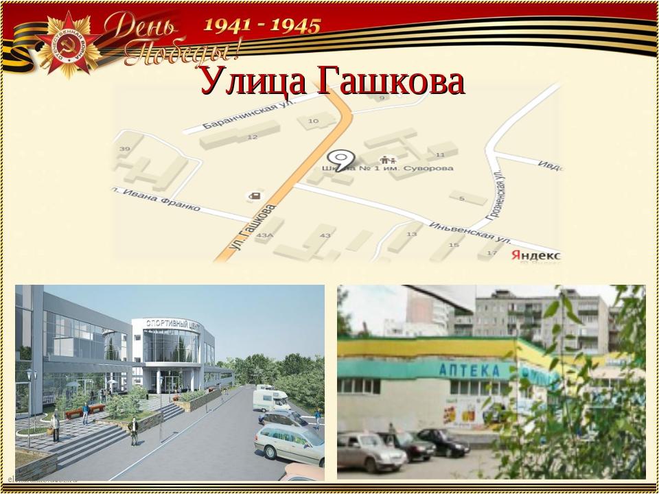 Улица Гашкова