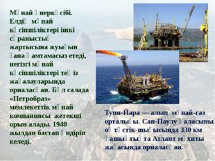 Мұнай өнеркәсібі. Елдің мұнай кәсіпшіліктері ішкі сұраныстың жартысына жуығы
