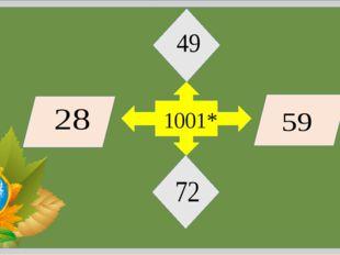 """Игра """"Диагональ"""" 100 100 100 100 100 :20 *17 -24 + 31 × 10 -89 × 27 - 289 × 1"""
