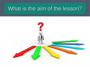 What is the aim of the lesson?
