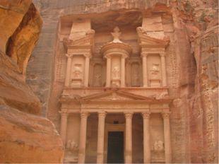 Храмовый комплекс Петра в Иордании