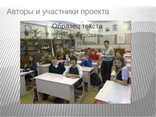 Авторы и участники проекта