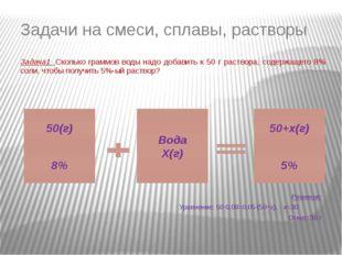 S0 (1-5·0,01)(1+5·0,01) S0(1-5·0,01) Задача 1. Цена товара сначала понизилась