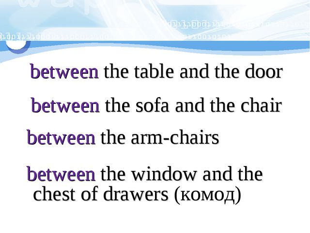 between the table and the door between the sofa and the chair between the ar...