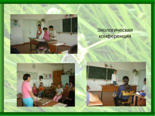 Экологическая конференция