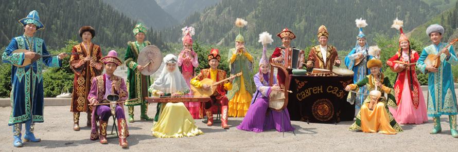 Казахстанская народная музыка скачать
