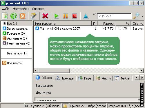 После подтверждения установок, программа тут же начнет скачивать необходимый Вам файл