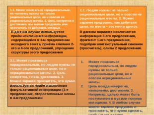1.1. Может показаться парадоксальным, но человеку нужны не только рациональны