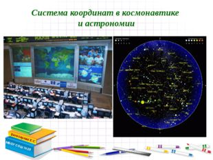 Система координат в космонавтике и астрономии Белозерова Е.С. МБОУ СОШ №28