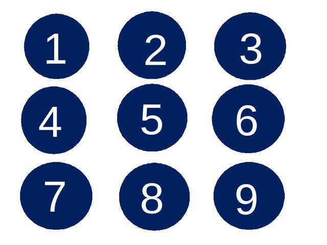 1 7 3 4 5 6 2 8 9