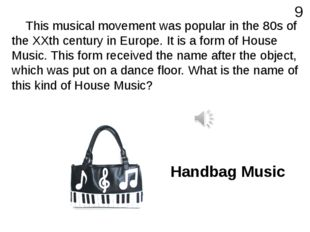This musical movement was popular in the 80s of the XXth century in Europe.